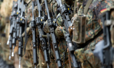 Battle rages over using army to fight terror on German soil