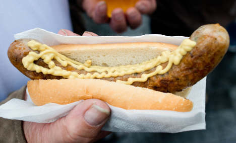 Sausage fight breaks out at Mercedes shareholder buffet
