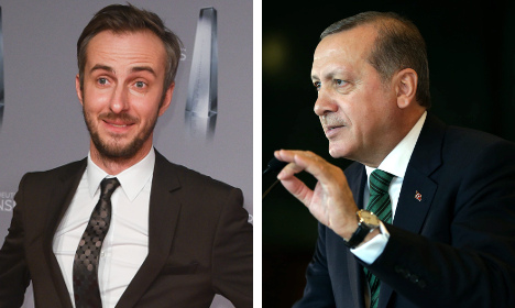 Turkey's complaint could land German comedian in jail