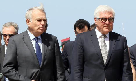 France and Germany back Libyan unity government