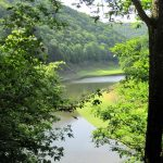 """<b>Eifel National Park.</b> This western German park is dotted with lakes and streams amid its green forest. The guided ranger tours on offer provide for all kinds of visitors, from those who want to see the park by boat or by horse, as well as deaf and even blind visitors.Photo: <a href=""""http://bit.ly/1T45If8"""">Bungert55</a>/Wikimedia Commons."""