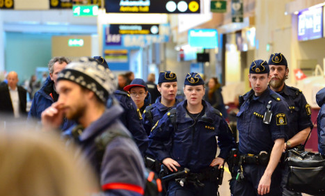 Swedish police hold terror suspect wanted in Germany
