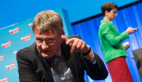 Far-right AfD turns on itself over failed Muslim meeting
