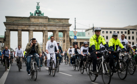 Cyclists' 'Ride of Silence' launches bid for safer streets