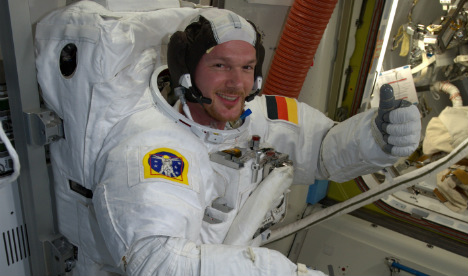 German astronaut to take command of space station