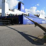 Migrants try new route to UK through north German port