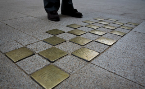20 years of remembering the Holocaust on German streets