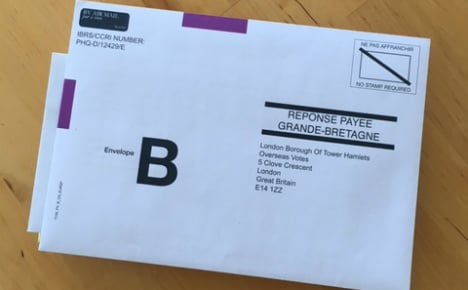 German Post under fire for not accepting Brexit ballots