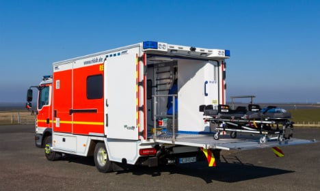 North Germany beefs up ambulances for the obese