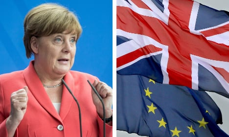 Stay in EU and keep your influence, Merkel tells Brits