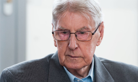 Auschwitz guard gets 5 years prison for Holocaust role