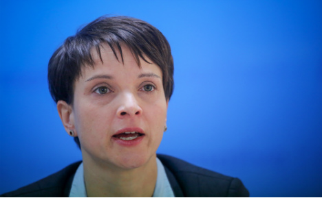 AfD leader 'the biggest liar' on television