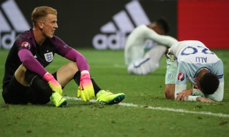 Germans react with glee to England's Iceland humiliation