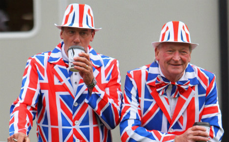 Germans rally on Twitter to show love for UK