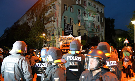 123 police injured in Berlin anti-gentrification protest