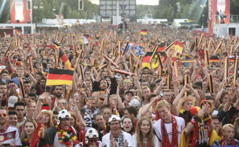 Germans' football passion delights refugees
