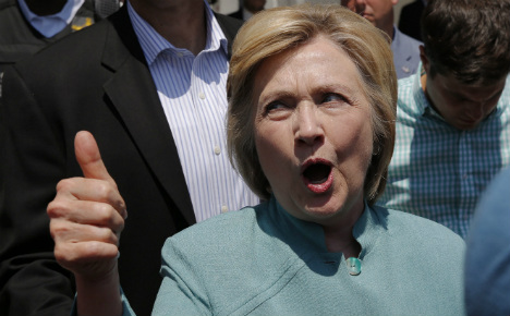 'If Germany could vote, Hillary would win hands down'