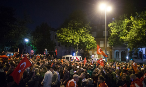 Berlin slams 'revolting' scenes after Turkish coup attempt