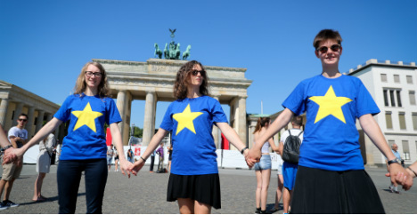 Post-Brexit, Germans feel more positively about the EU