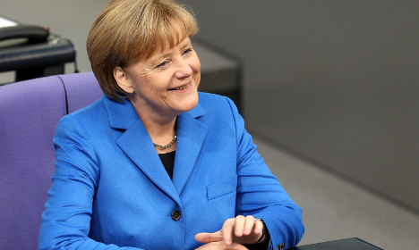 Merkel's popularity continues to grow with Germans