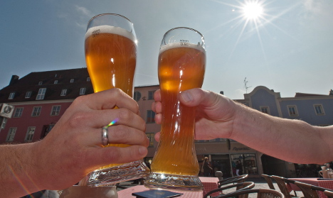 Heat and UV warnings for south and southwest Germany