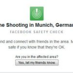Munich residents can mark themselves as 'safe' on Facebook as the site activates its Safety Check.Photo: Photo: private