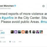 The Munich police department takes to Twitter to call on Munich residents to stay safe.Photo: Photo: private