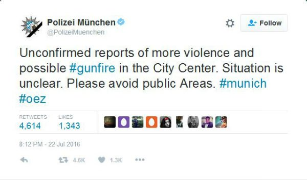IN PICTURES: How Munich responded to shooting spree