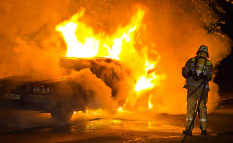 Number of car arsons in Berlin explodes in 2016