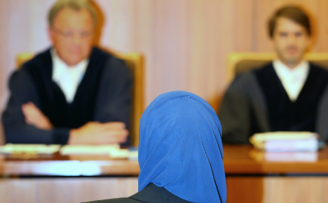 German judges' associations call for headscarf ban in court