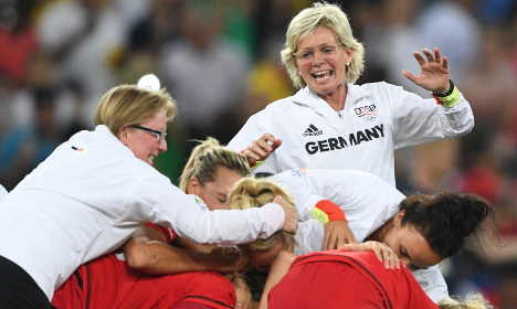 Germany win their first women's football gold