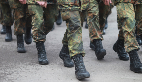 Hundreds seek to leave the German army