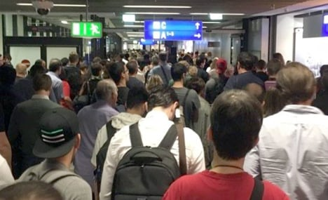 100 flights cancelled due to Frankfurt airport security alert