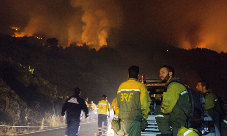 German man says 'toilet paper mishap' started Spain wildfire
