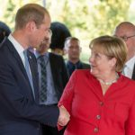 Düsseldorf swoons as Prince William comes for royal visit