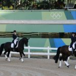 The German Dressage team galloped onto the winner's podium at the tournament, rendering team member Isabell Werth the most successful equestrienne of all time at the Olympics. Michael Jung and his horse also out-leaped the competition in the Eventing Individual Jumping category. Photo: DPA