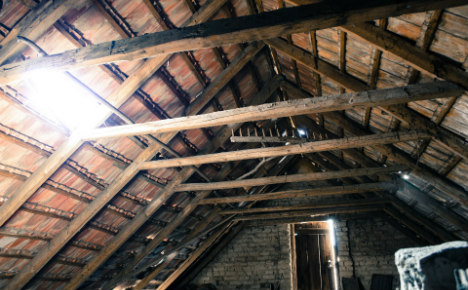 Woman found in farmhouse attic - 40 years after her death