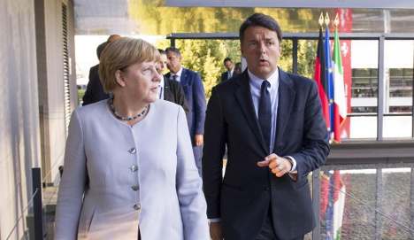 Germany and Italy signal tougher stance on immigrants