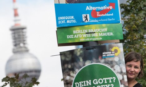 Poll shows far-right AfD could win 15 percent in Berlin vote