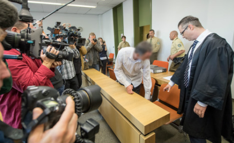 German court tries man for smuggling arms to Paris