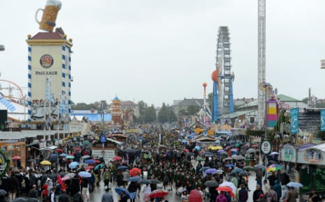 Oktoberfest visitor numbers down by half on first weekend