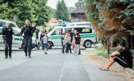 Scared Syrian refugees stuck in east Germany mull leaving