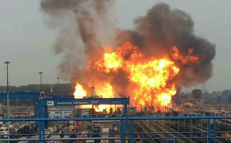 Two dead, search goes on after chemical plant blast