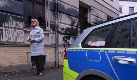 CDU politician's office attacked after her 'Nazi tweet'