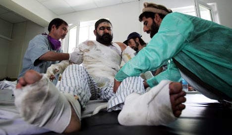 German court rejects payout for Afghan airstrike victims