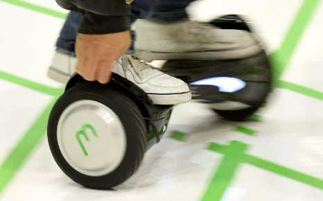 Court fines man €1,200 for hoverboarding on pavement