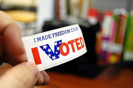 Last chance to vote absentee in the US elections