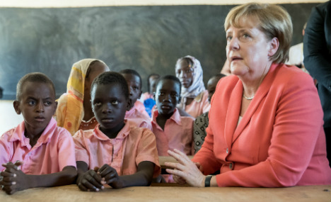 Merkel announces security and aid package for Niger