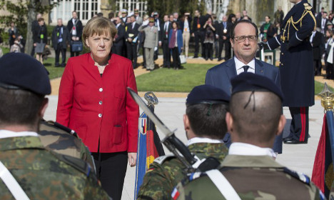 France and Germany to share military facilities and aircraft