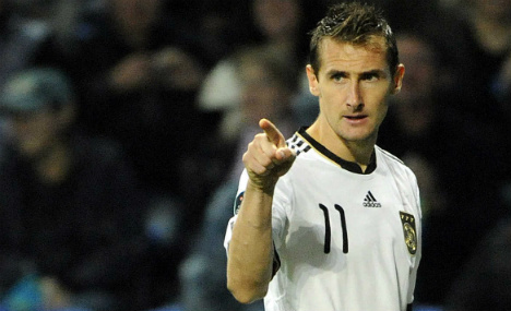 Klose, Germany's all-time top scorer hangs up boots
